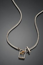 Lotus Toggle by Ann Cahoon (Gold & Silver Necklace)