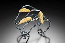 Wavy Peanut Bracelet by Lori Gottlieb (Gold & Silver Bracelet)