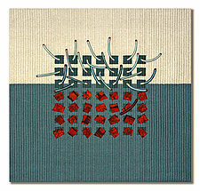 Earth Series No. 8 by Laurie dill-Kocher (Fiber Wall Hanging)