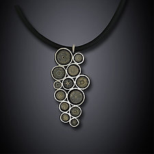 Crinoid Necklace by Dawn Estrin (Silver & Stone Necklace)