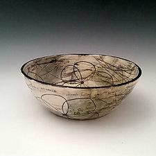 Medium Serving Bowl by Whitney Smith (Ceramic Bowl)