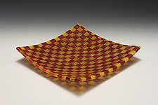 New Perspectives 2 by James Nevitt (Art Glass Platter)