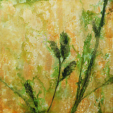 Sea Oats I by Stephen Yates (Acrylic Painting)