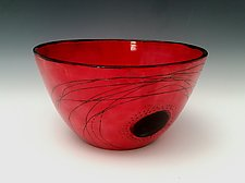 Extra Large Serving Bowl by Whitney Smith (Ceramic Bowl)