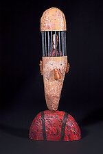 The Philosopher by Bruce Chapin (Wood Sculpture)