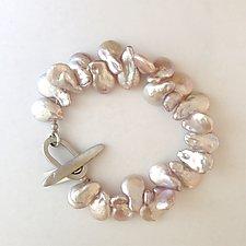 Pink Pearl Bracelet by Kathleen Lynagh (Jewelry Bracelets)