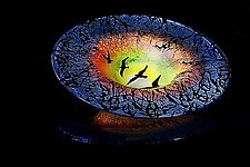 Sunrise Flight by Lisa Tate (Art Glass Bowl)