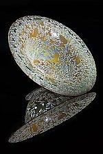Frog Bowl by Lisa Tate (Art Glass Bowl)