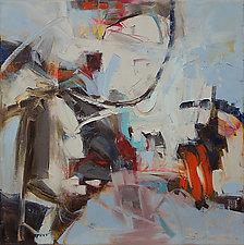 Wintertouch 2 by Karen Scharer (Oil Painting)