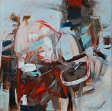 Wintertouch 3 by Karen Scharer (Oil Painting)