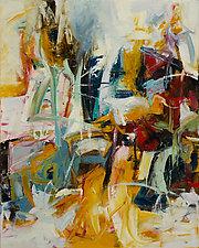 Sixty 1 by Karen Scharer (Oil Painting)