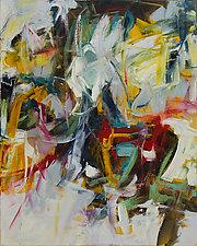Sixty 2 by Karen Scharer (Oil Painting)
