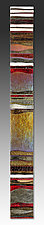 Mosaic Gold Carpet by Alicia Kelemen (Art Glass Wall Sculpture)
