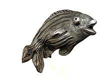 Carla Fish Hook by Rosalie Sherman (Metal Hardware)