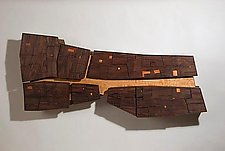 Timbuktu by Peter Loh (Wood Wall Sculpture)