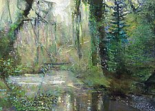 Light on the Water by Ron Reams (Giclee Print)