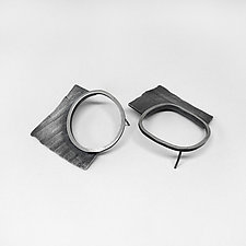 Fragment Earrings by Jane Pellicciotto (Silver Earrings)