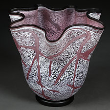 Faded Fuchsia by Eric Bladholm (Art Glass Bowl)