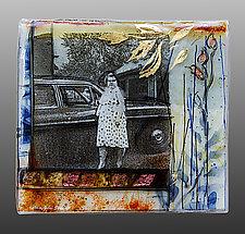 New Car Series 1970s by Alice Benvie Gebhart (Art Glass Wall Sculpture)