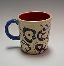 Sgraffito Mug by Vaughan Nelson (Ceramic Mug)