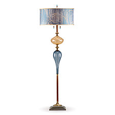 Grayson by Susan Kinzig and Caryn Kinzig (Mixed-Media Floor Lamp)