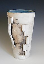 Unfurled Four by Lenore Lampi (Ceramic Vase)