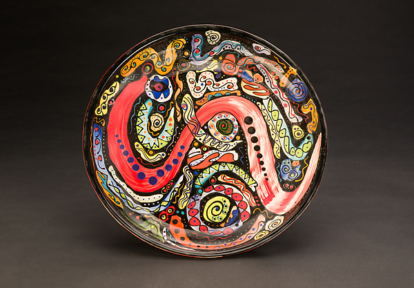 Multicolored Platter