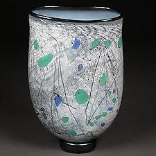 Wandering Winter by Eric Bladholm (Art Glass Vessel)