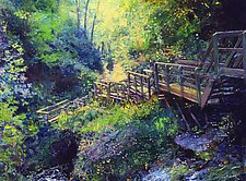 Dream Bridge by Ron Reams (Giclee Print)