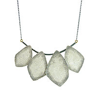 Geo Necklace by Jenny Reeves (Gold & Silver Necklace)