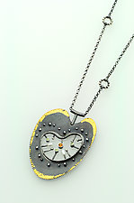 Beauty Inside Necklace by Sooyoung Kim (Gold, Silver & Stone Necklace)