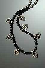 Seed Pod Necklace by Sooyoung Kim (Silver & Stone Necklace)