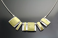 Unity Necklace by Sana  Doumet (Gold & Silver Necklace)