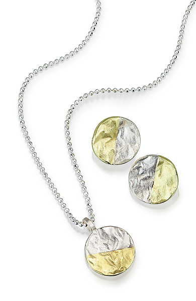 Mixed Reticulated Circle Jewelry