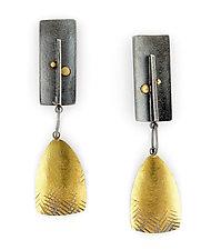 Vida Earrings by Sydney Lynch (Gold & Silver Earrings)