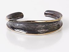 Bronze Cuff by Nancy Linkin (Bronze Bracelet)