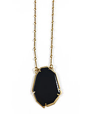 Small Geo Necklace by Lisa Crowder (Enameled Necklace)