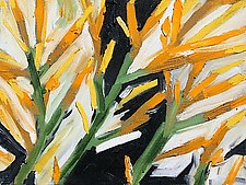 Rabbit Brush by Tracy Weil (Oil Painting)