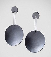 Big Round by Maja  (Silver Earrings)