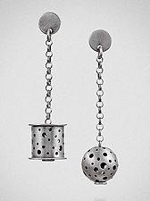 In Balance by Maja  (Silver Earrings)