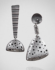 Doing the Twist by Maja  (Silver Earrings)