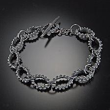 Bumpy Link Bracelet by Dahlia Kanner (Silver Bracelet)