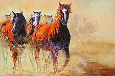 Trailblazers by Ritch Gaiti (Giclee Print)