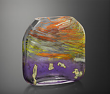 Breathe by Randi Solin (Art Glass Sculpture)
