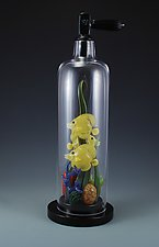 Reef Scuba Tank by Jeremy Sinkus (Art Glass Sculpture)