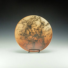 Horsehair Bowl by Lance Timco (Ceramic Bowl)