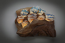 Cloud Formation by Aaron Laux (Wood Wall Sculpture)