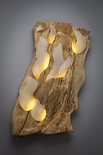 Atmosphere by Aaron Laux (Wood Wall Sculpture)