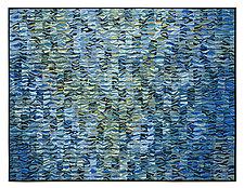 Water Music Shimmer by Tim Harding (Fiber Wall Art)