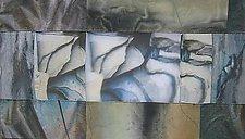 Layers by Wen Redmond (Fiber Wall Art)